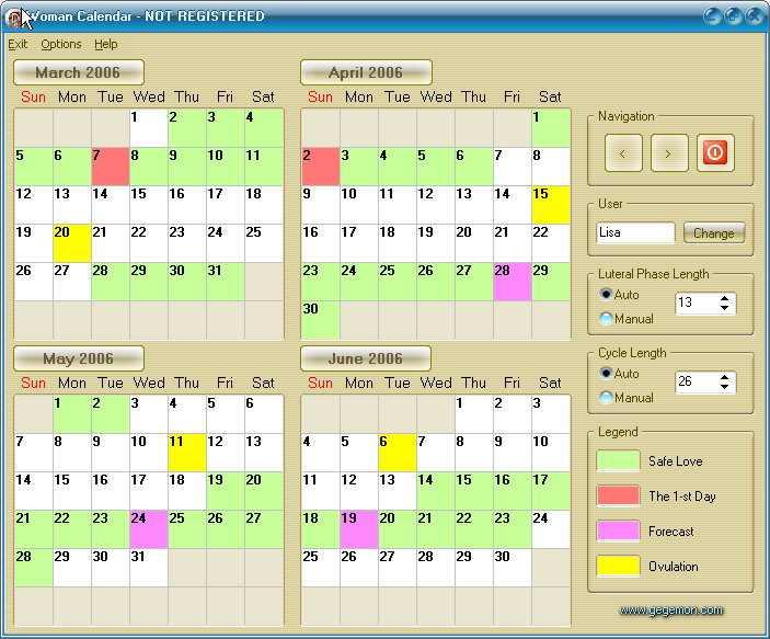 Программа для компьютера часы и календарь скачать